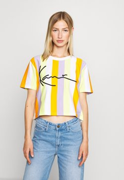 Karl Kani - SIGNATURE - T-Shirt print - white