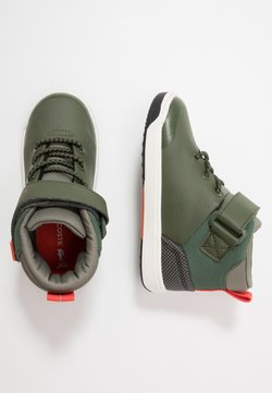 Lacoste - EXPLORATEUR - High-top trainers - dark khaki/khaki