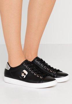 KARL LAGERFELD - KUPSOLE IKONIC LACE - Sneakersy niskie - black