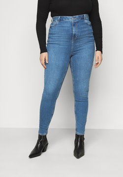 New Look Curves - Jeans Skinny Fit - mid blue