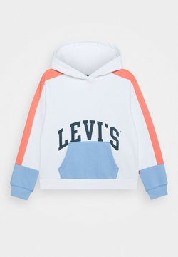 Levi's® - COLOR BLOCK HOODIE - Hoodie - white