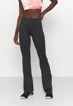Reebok - BOOTCUT - Pantaloni sportivi - night black