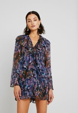 Lost Ink - RUFFLE FRONT PRINTED - Combinaison - multi