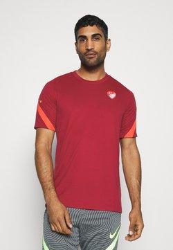 Nike Performance - TÜRKEI  - Voetbalshirt - Land - red crush/habanero red