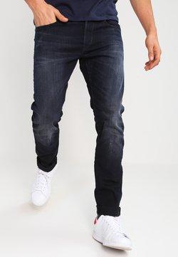 G-Star - 3301 SLIM - Slim fit jeans - siro black stretch denim