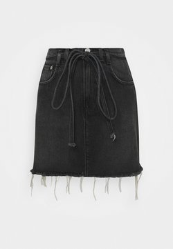 Pepe Jeans - RACHEL SKIRT BELT - Minirock - denim