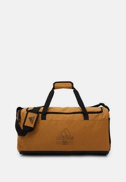 adidas Performance - BRILLIANT BASICS SPORTS DUFFEL BAG UNISEX - Sports bag - mesa/mesa/black