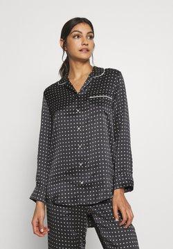 ASCENO - THE PARIS - Pyjama top - black square