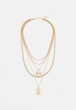 Pieces - PCKELLIGE COMBI NECKLACE - Necklace - gold-coloured