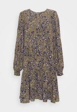 Vero Moda Tall - VMSANDRA ONECK SHORT DRESS - Day dress - beech