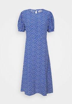 Faithfull the brand - SAMIRAH DRESS - Freizeitkleid - maddy floral print - vintage blue