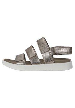 ECCO - Sandalias de senderismo - metallic grey