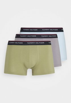 Tommy Hilfiger - TRUNK 3 PACK - Shorty - green