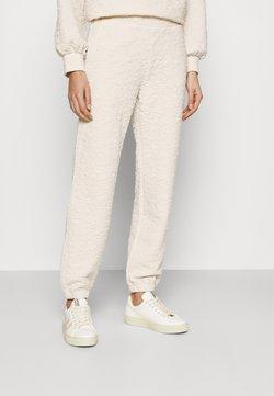 Selected Femme - SLFGINA PANT - Jogginghose - sandshell