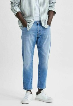Selected Homme - Jeans baggy - light blue denim