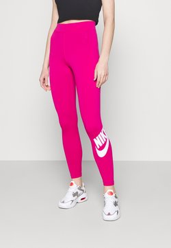 Nike Sportswear - FUTURA - Leggings - fireberry/white
