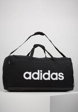 adidas Performance - LIN DUFFLE L - Sporttasche - black/white