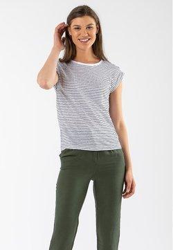 EKYOG - T-Shirt print - white marine