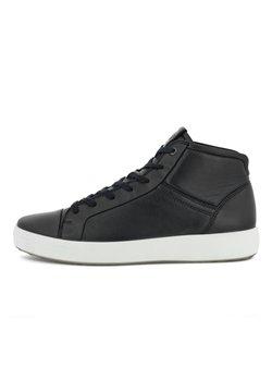 ECCO - Höga sneakers - black