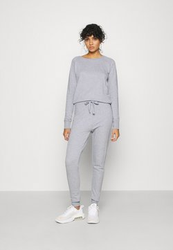 New Look - CREW NECK - Jumpsuit - light grey