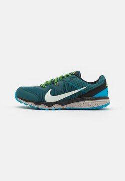 Nike Performance - JUNIPER - Zapatillas de trail running - dark teal green/light silver/black