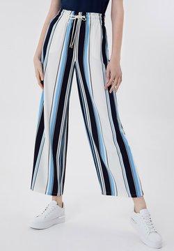 LIU JO - Stoffhose - stripes/blue