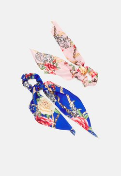 Pieces - PCANJULIA BOW SCRUNCHIE 2 PACK - Hair Styling Accessory - petal pink/blue