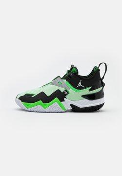 Jordan - WESTBROOK ONE TAKE - Chaussures de basket - white/black/rage green