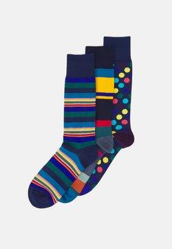 Paul Smith - MEN SOCK MIXED 3 PACK - Socken - blue/multi-coloured