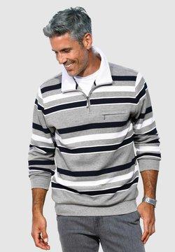 Roger Kent - Sweatshirt - grau,marineblau,weiß