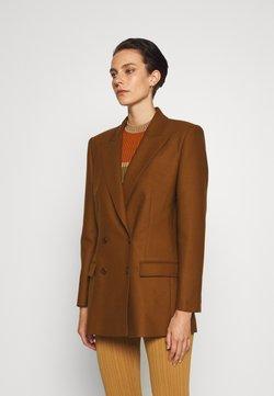 Alberta Ferretti - JACKET - Krótki płaszcz - brown