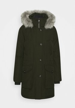 Tommy Hilfiger - GLOBAL STRIPE PADDED - Cappotto invernale - camo green