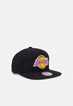 Mitchell & Ness - NBA LOS ANGELES LAKERS SOLID SNAPBACK - Lippalakki - black