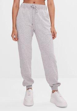 Bershka - Pantalon de survêtement - light grey