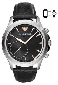 Emporio Armani Connected - Montres connectées - matt schwarz