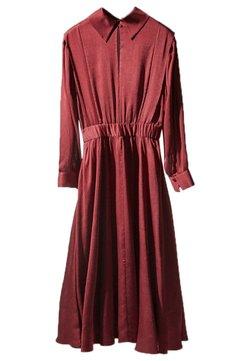 Massimo Dutti - Maxi dress - bordeaux