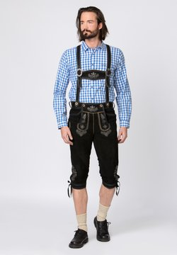 Stockerpoint - JUSTIN - Lederhose - black