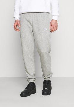 Nike Sportswear - CLUB PANT - Joggebukse - grey heather/matte silver/white
