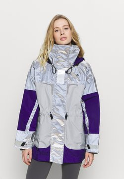 adidas by Stella McCartney - Kuoritakki - reflective silver/clear onix/collegiate purple