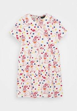 Mini Rodini - RABBIT DRESS - Jerseyjurk - offwhite