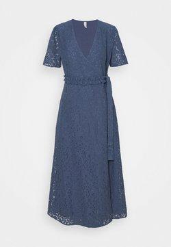 YAS - YASFLAIR  DRESS - Vestido de cóctel - blue heaven