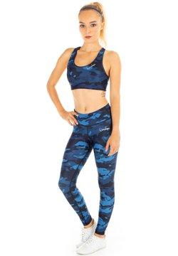 Winshape - FUNCTIONAL POWER SHAPE - Legging - camo blue