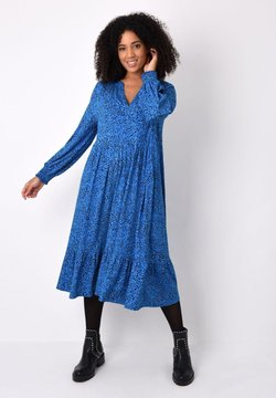 Live Unlimited London - BLUE HEART - Jerseykleid - blue