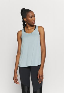 adidas Performance - TUNIC TANK - Funktionsshirt - mint