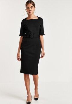 Next - BODYCON PONTE - Sukienka etui - mottled black