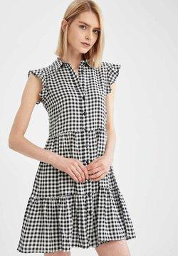 DeFacto - SLIM FIT  - Korte jurk - black