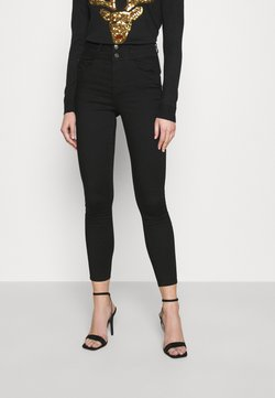 New Look - LIFT AND SHAPE HIGHWAIST - Jeansy Skinny Fit - black