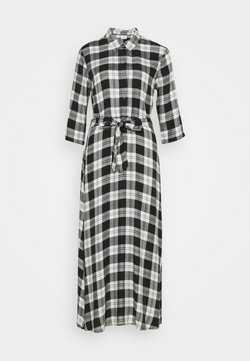 JDY - JDYSTAY MIDCALF DRESS - Blusenkleid - black/white