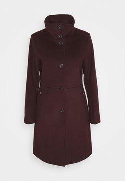 Esprit Collection - BASIC COAT - Classic coat - bordeaux red