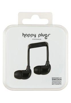 Happy Plugs - Høretelefoner - black